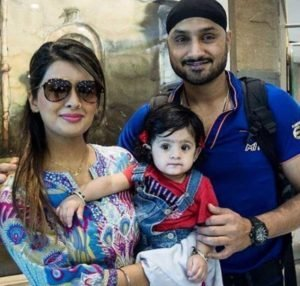 Geeta Basra with Daughter