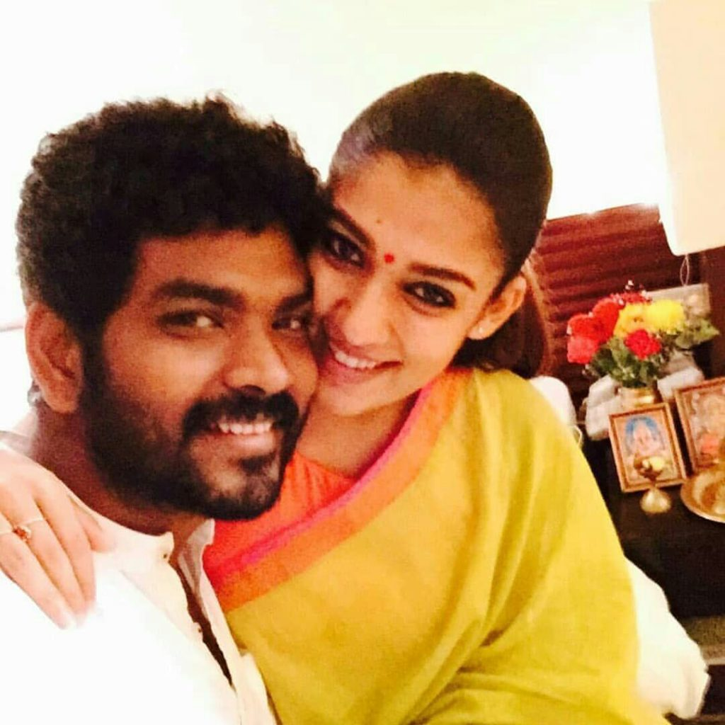 Nayanthara and her husband