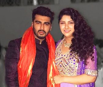 Arjun Kapoor with his sister Anshula Kapoor