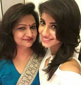 Rukmini-Maitra-with-her-Mom
