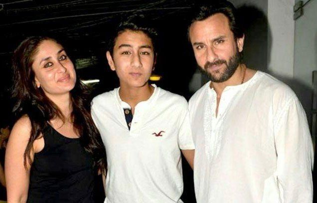 Ibrahim Ali Khan with Step Mother kareena kapoor