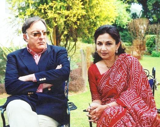 Sharmila Tagore and Mansoor Ali Khan Pataudi