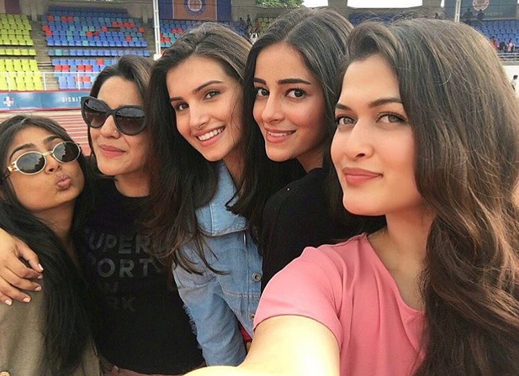 Pranutan with Ananya Pandey and others