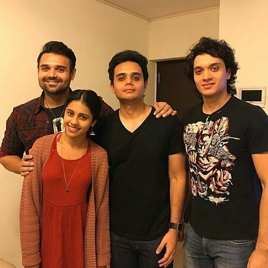 Dishani with her Three Brothers