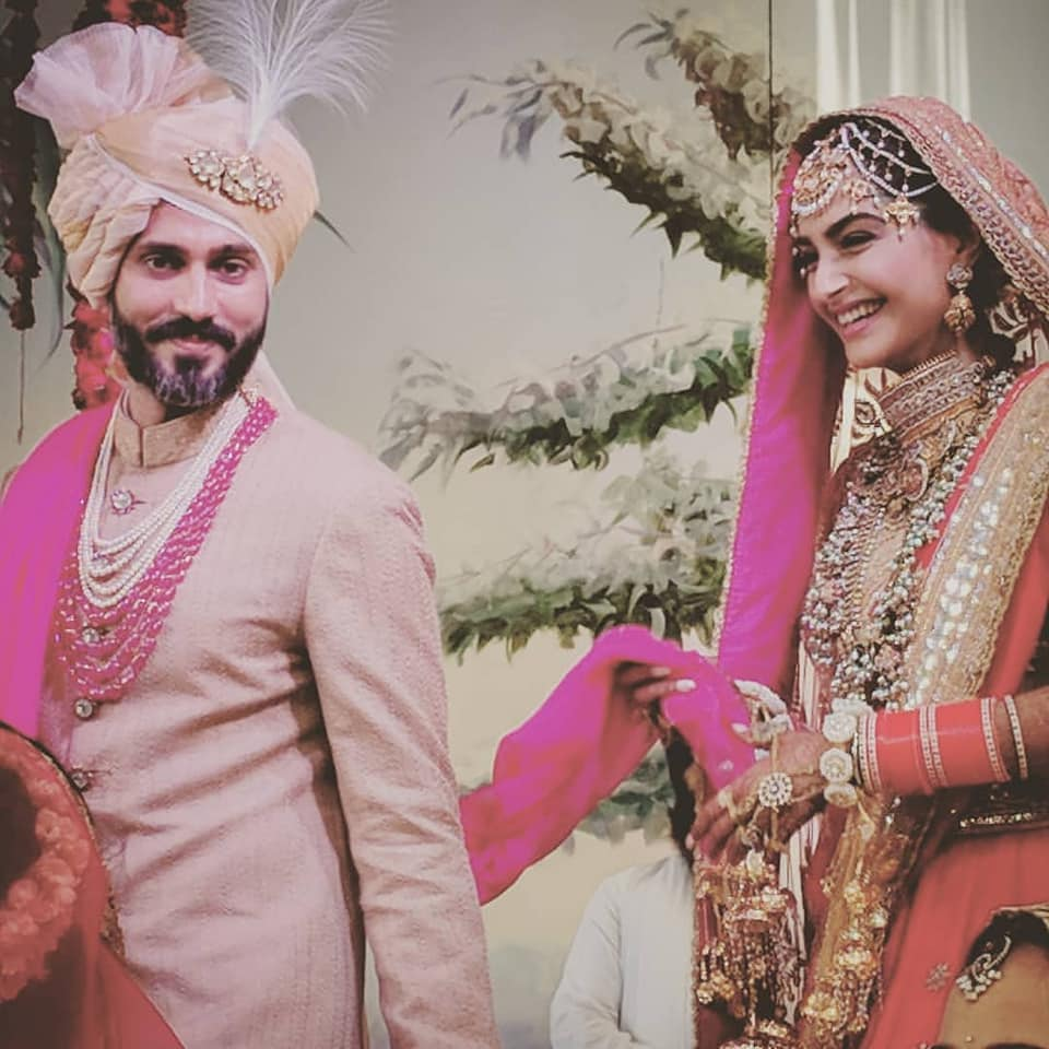 sonam and anand ahuja wedding
