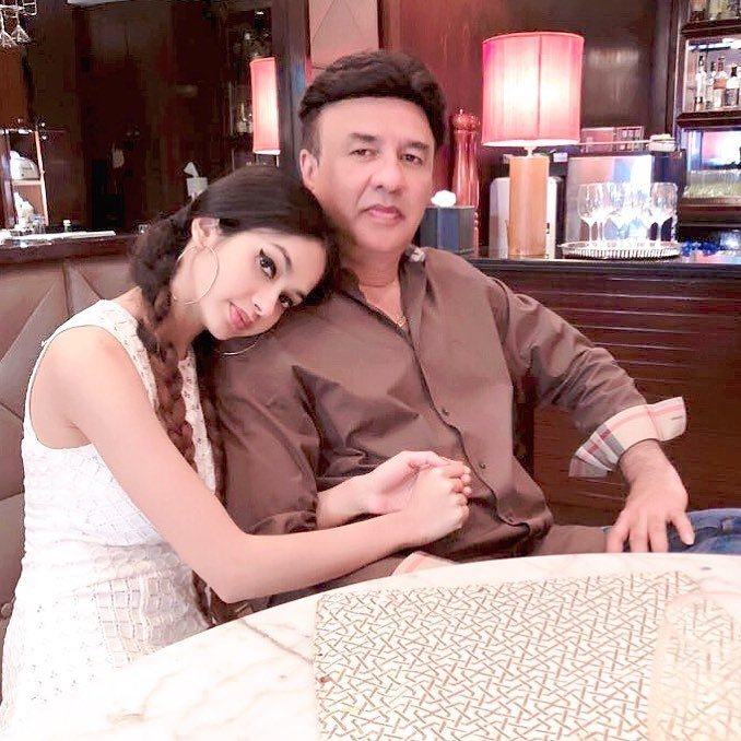 Ada with her Father Anu Malik