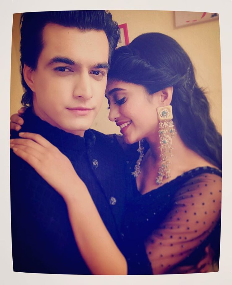 Shivangi with her boyfriend Mohsin Khan