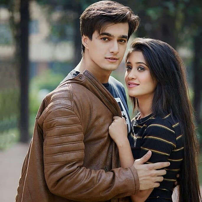 Mohsin with  Shivangi Joshi
