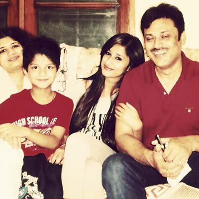 Maera Mishra with her Family