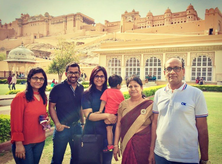 Chandan Agarwal Family