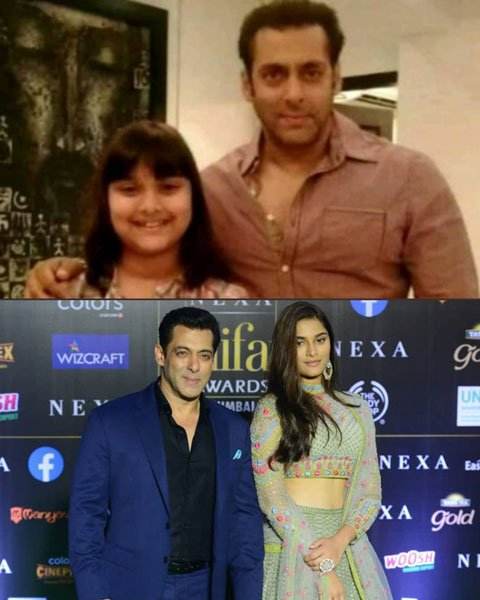 Saiee Manjrekar With Salman Khan