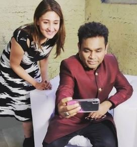Dhvani with A. R. Rahman