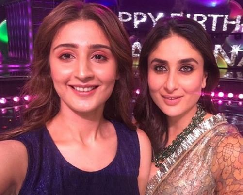 Dhvani with Kareena Kapoor