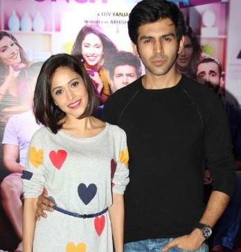 Kartik and Nushrat Bharucha
