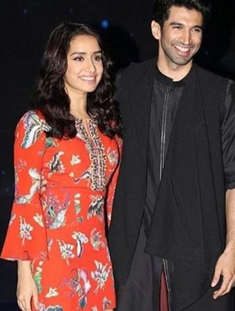 Shraddha with Aditya Roy Kapur